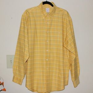 Brooks Brothers mens Dress Shirt Size L